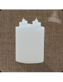 Lumanare decorativa - 2 fitile