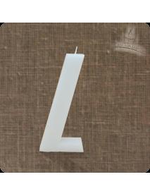 """Lumanare decorativa """"L"""""""